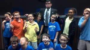 Fun with our Mayor!