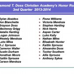 Honor Roll 3rd