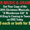Christmas Program DVDs: Support Our Music & Drama Program