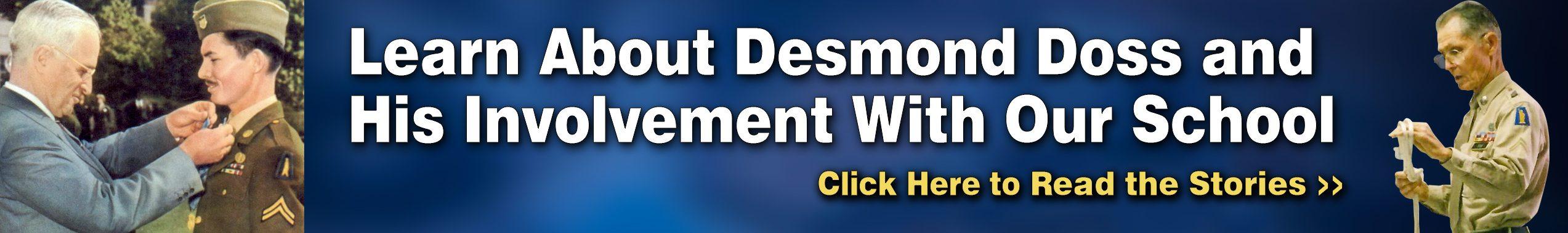 Desmond Doss Hacksaw Ridge Medal of Honor Recipient