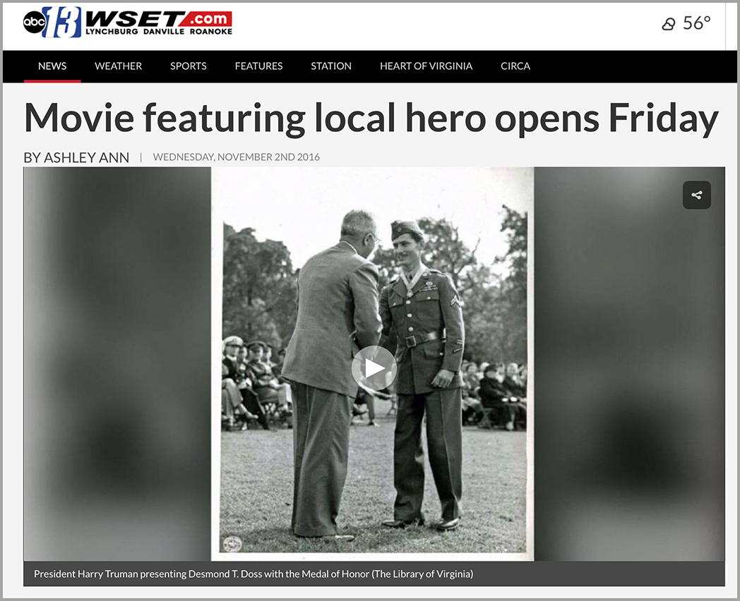 desmond doss interview, hacksaw ridge, battle of okinawa, desmond doss school