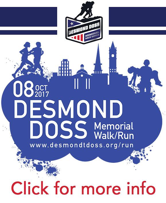 desmond doss run, desmond t. doss run, half-marathon, desmond doss