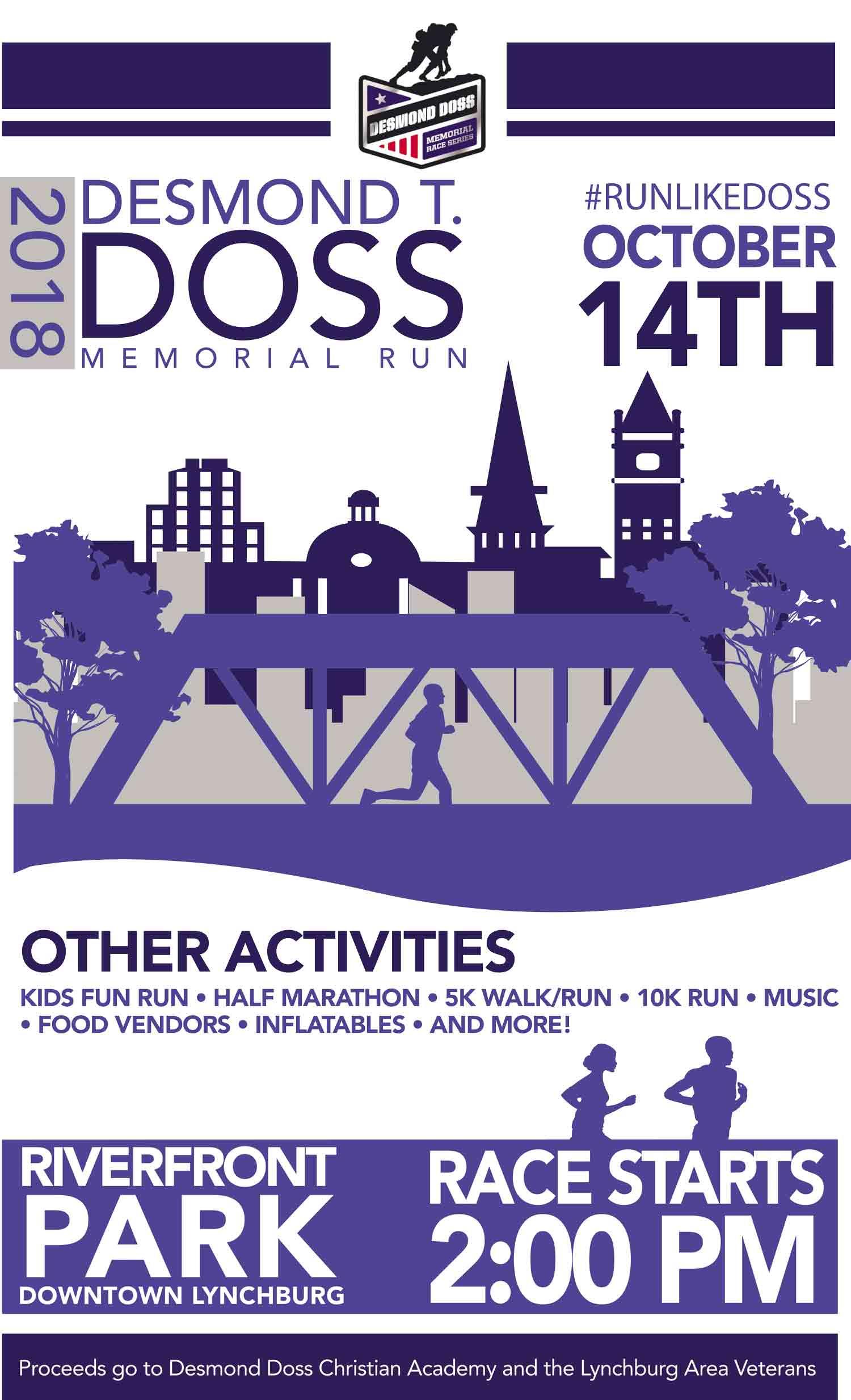 Desmond T Doss Memorial Run