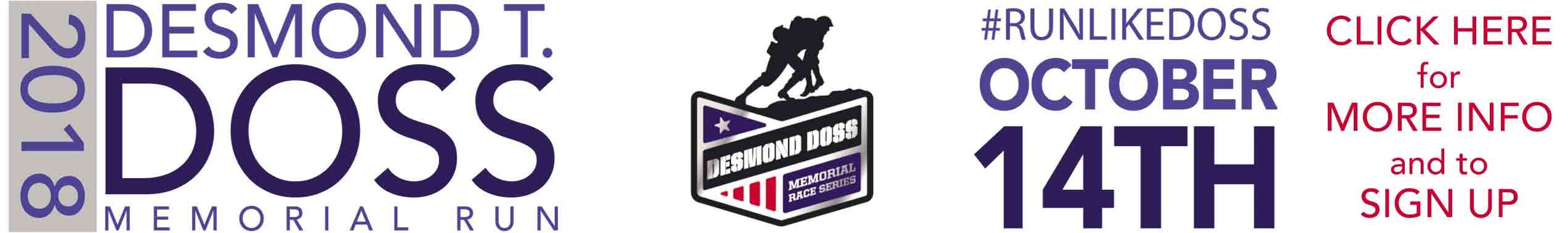 Desmond T Doss Memorial Run