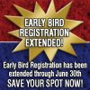 Early Bird Registration Extended through June 30th!